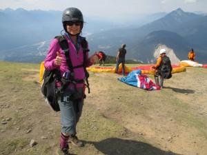 me-paragliding